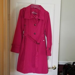 Guess trenchcoat with removable hood
